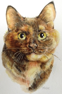 Millie cat painting lowres