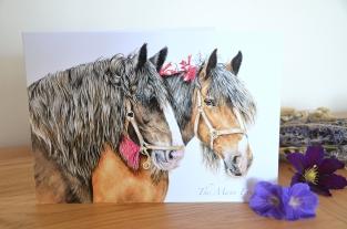 Horse card 1